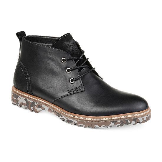 Vance Co Mens Ranger Chukka Boots Block Heel