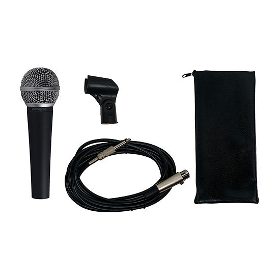 ChromaCast Dynamic Vocal Microphone with Cable and Clip