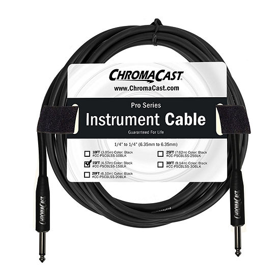 ChromaCast Pro Series Instrument Cable - 15 Feet