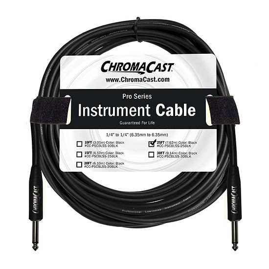 ChromaCast Pro Series Instrument Cable - 25 Feet