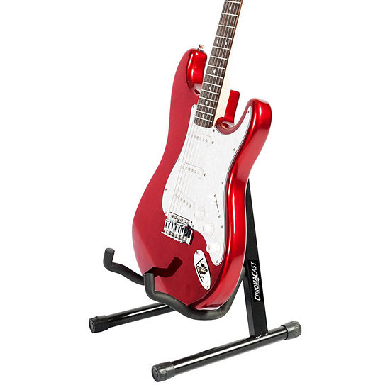 ChromaCast A-Frame Universal Folding Guitar Stand with Secure Lock