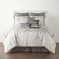 Deals on JCPenney Home Paris 7-pc. Jacquard Comforter Set