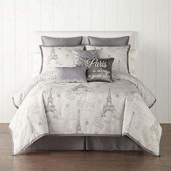 Jcpenney Home Paris 7 Pc Jacquard, Jcpenney Bed Sheets Queen