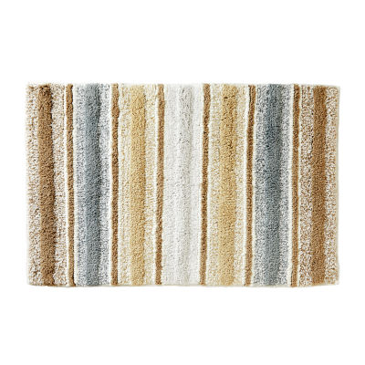 Saturday Knight Water Stripe Bath Rug