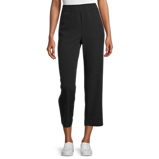 Worthington-Tall Womens Straight Pull-On Pants