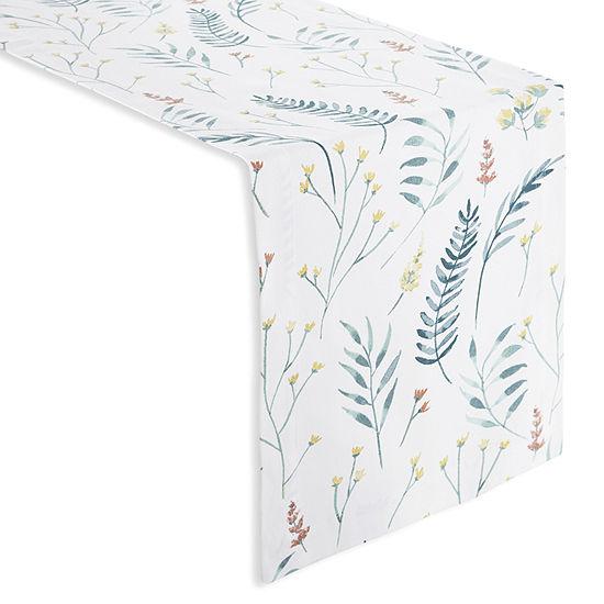 Linden Street Floral Table Runner