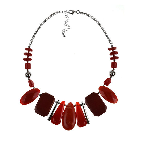Mixit 18 Inch Cable Beaded Necklace