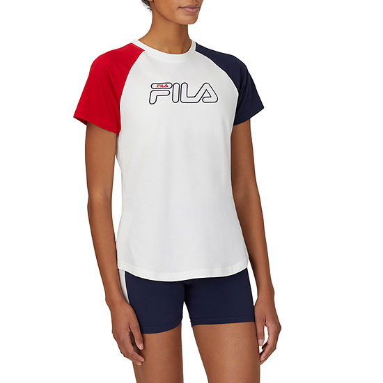 Fila Blaine Womens Crew Neck Short Sleeve T-Shirt