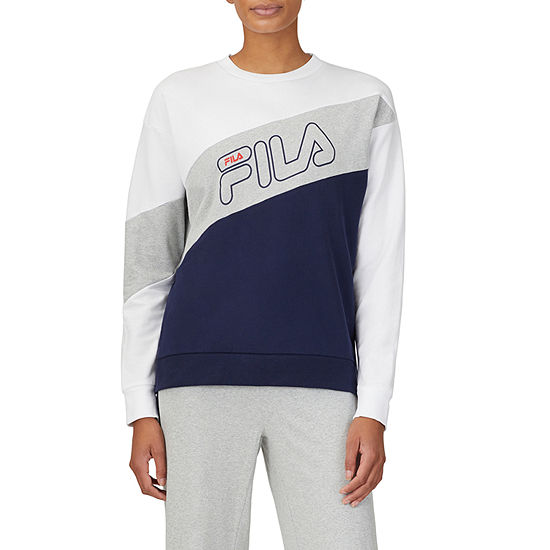 Fila Bobbie Womens Crew Neck Long Sleeve Sweatshirt