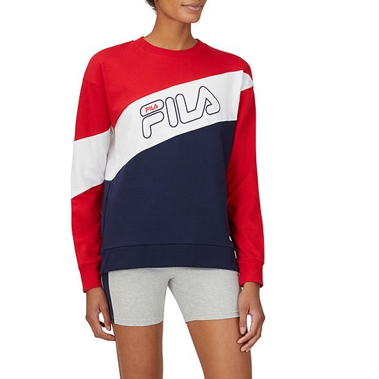 Fila Bobbie Womens Crew Neck Long Sleeve Sweatshirt