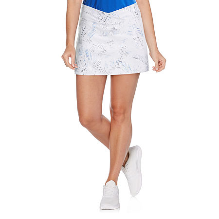 PGA TOUR Womens A-Line Skirt, Xx-large , White