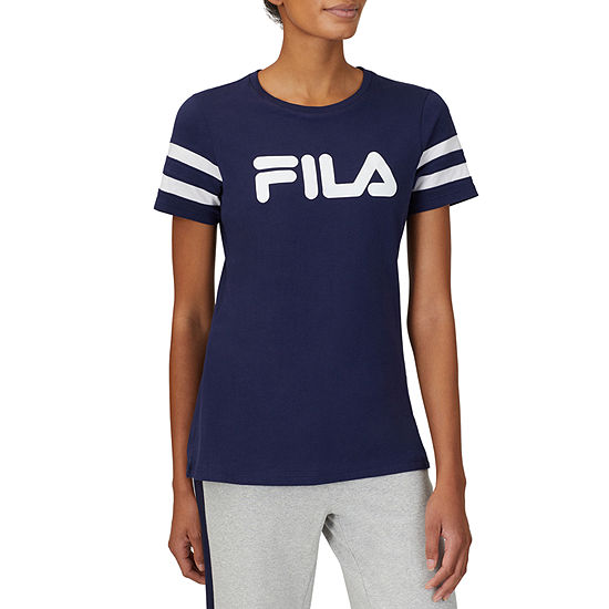 Fila Throwback Womens Crew Neck Short Sleeve T-Shirt