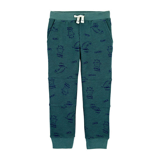 Carter's Toddler Boys Cuffed Pull-On Pants