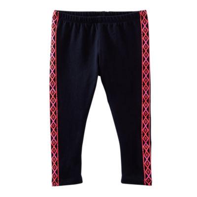 OshKosh B'gosh® Side-Print Capri Leggings - Girls 4-7