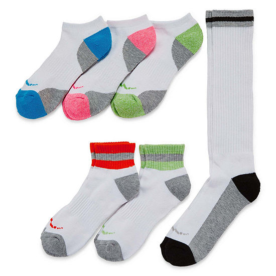 Womens 6-pk. Assorted Wardrobe Socks