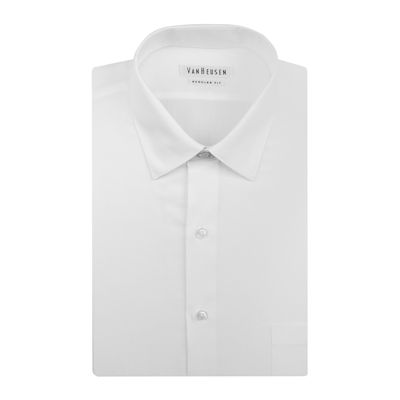 Van Heusen® Long-Sleeve Herringbone Shirt - Big & Tall