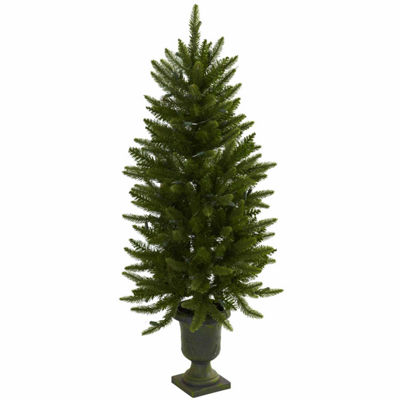 Nearly Natural 4ft Urn Christmas Tree