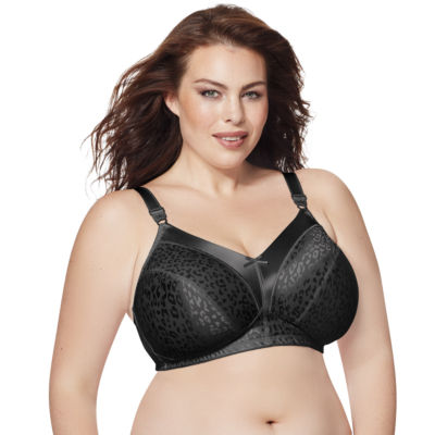 Just My Size 2-pack Satin Stretch Full-Figure Wireless Bra - 1960