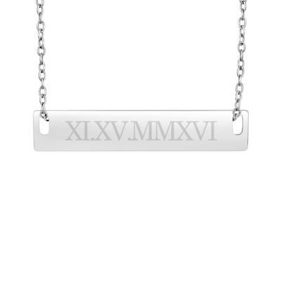 Womens 18 Inch Link Necklace