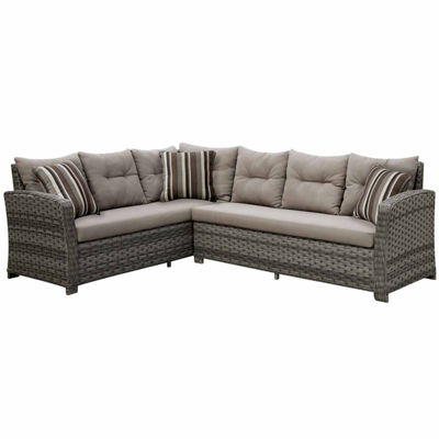Wicker Patio Sectional
