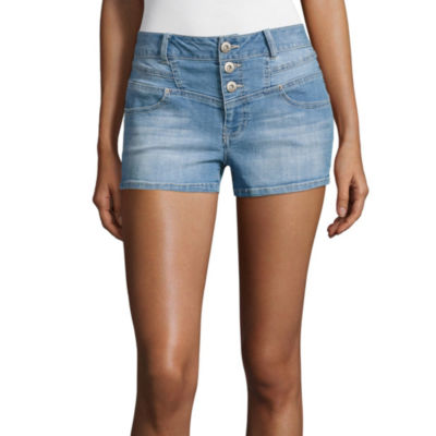 "Blue Spice 2.5"" Denim Shorts-Juniors"