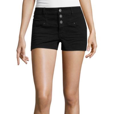 "Blue Spice 2 1/2"" Denim Shorts-Juniors"