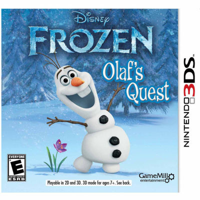 Frozen Frozen Video Game-Nintendo 3DS