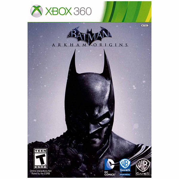 XBox 360 Batman Arkham Origins Video Game