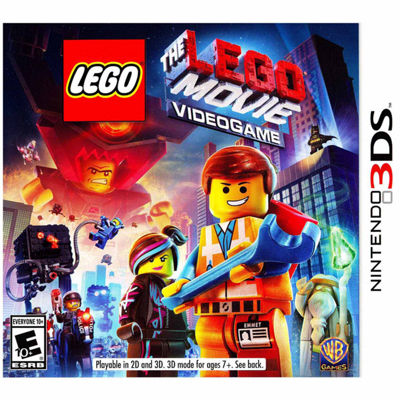 Nintendo 3DS The Lego Movie Videogame Video Game