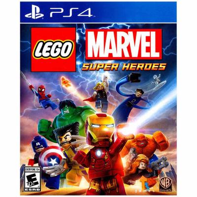 Playstation 4 Lego Marvel Super Heroes Video Game