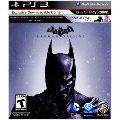 Playstation 3 Batman: Arkham Origins Video Game