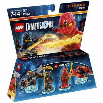 Lego Dims Ninjago Team Pack Gaming Accessory