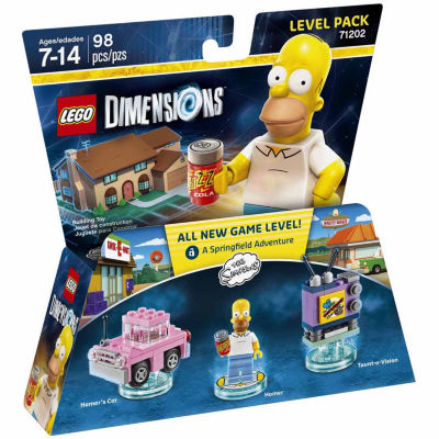 Lego Dims Simpsons Level Pack Gaming Accessory