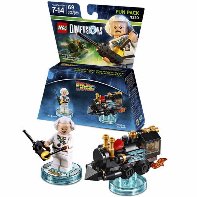 Lego Dims Bttf Doc Brown Fun Pack Gaming Accessory
