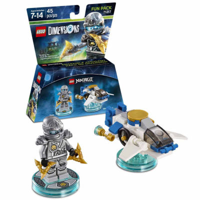 Lego Dims Ninjago Zane Fun Pack Gaming Accessory