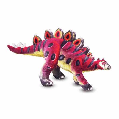 Melissa & Doug® Stegosaurus - Plush