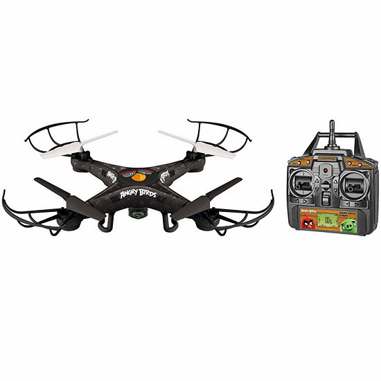 World Tech Toys Angry Birds Licensed Bomb Squak Copter 45ch 24ghz Rc Camera Drone
