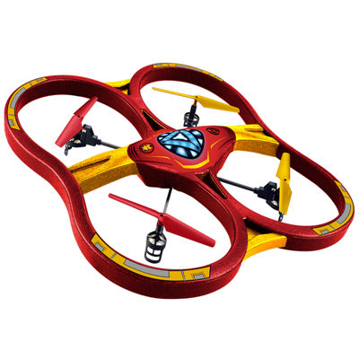 Marvel Licensed Iron Man 2.4GHz 4.5CH RC Super Drone