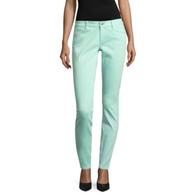 Arizona Luxe Stretch Twill Jeggings-Juniors
