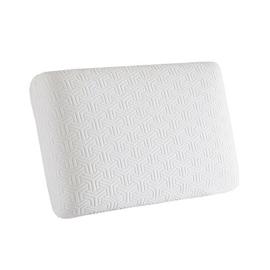 Sleep Philosophy Classic Gel Memory Foam Medium Density Pillow