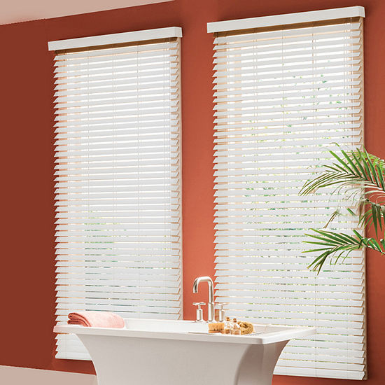 "Bali® Custom 2"" Faux Wood Blinds"