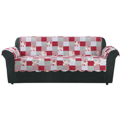 SURE FIT® Heirloom Quilt Sofa Furniture Cover