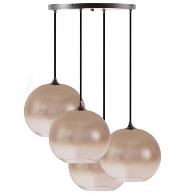 INK+IVY Mandal 4-pc. Pendant Light