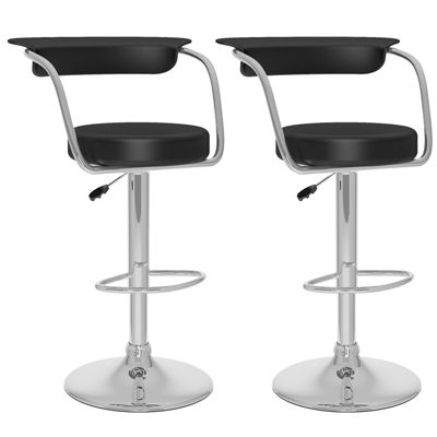 Open Back Adjustable 2-pc. Bar Stool