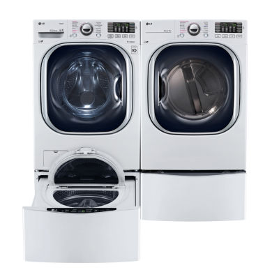 LG ENERGY STAR® 7.4 cu. ft. Ultra Large Capacity TurboSteam™ Electric Dryer