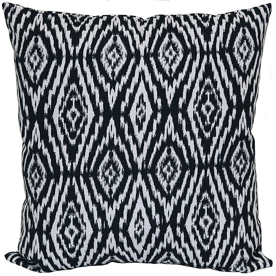 Outdoor Oasis Ikat Square Outdoor Pillow