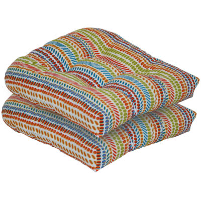 Outdoor Oasis 2 Pack Patio Seat Cushion