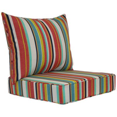 Outdoor Oasis Patio Deep Seat Cushion Set