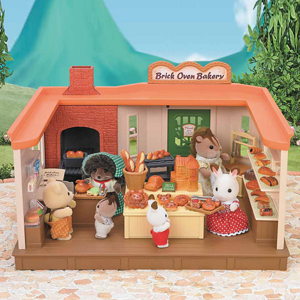 Calico Critters - Brick Oven Bakery with Heloise Pickleweeds Hedgehog