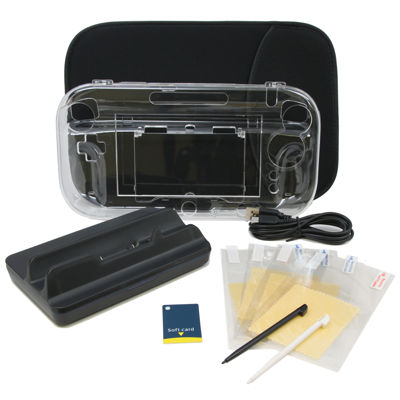 15 in 1 Accessory Kit for Nintendo Wii U
